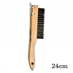 Global Hand Wire Brush 24cm