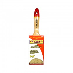 """Global Professional Paint Brush with White Bristles 2.5"""""""
