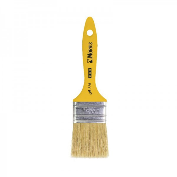 Morris Flat Paint Brush 20 with Plastic Handle A114