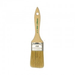 Morris Semi Double Flat Paint Brush 70 with Wood Handle A124