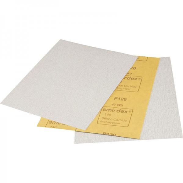 Smirdex Silicon Carbide P120 Finishing Paper 230x280mm