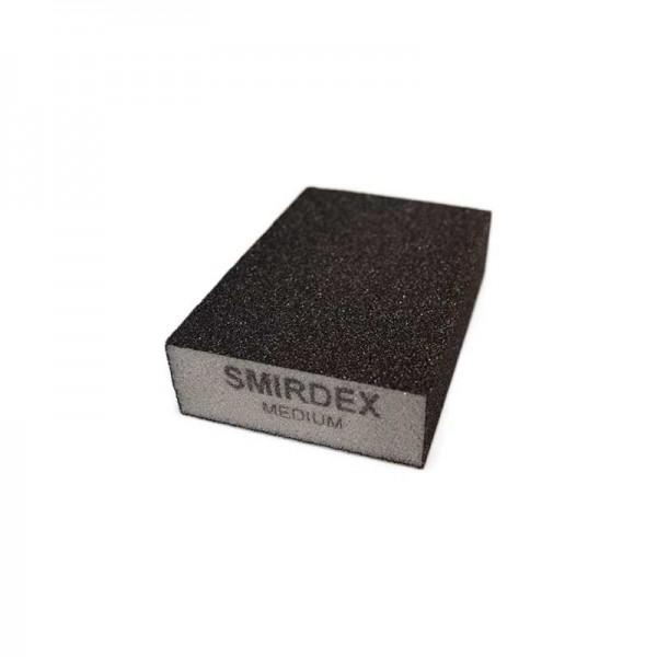 Abrasive Sponges medium Smirdex 920 four Sides 100x70x25mm