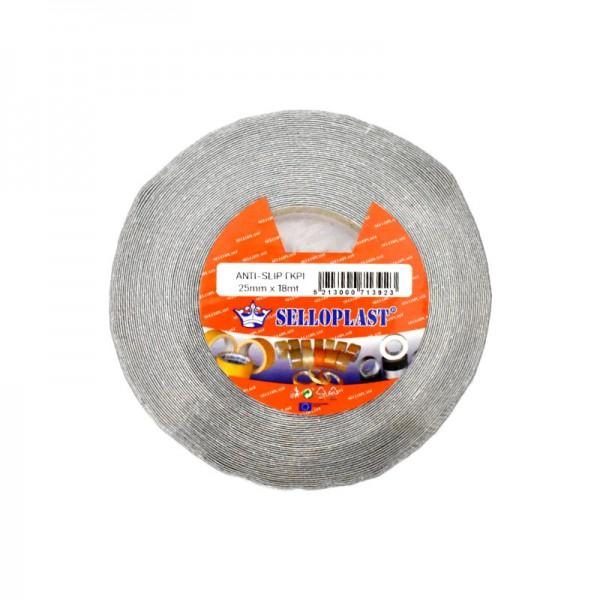 Selloplast Anti Slip Tape Grey 25mm x 18m