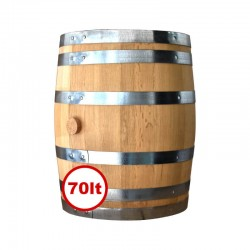 Lioutas Wooden Barrel for Wine 70lt