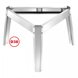 Base D38 for use with Stainless Steel Containers