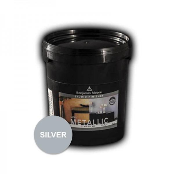 Benjaminmoore 620 Studio Finishes Decorative Metal Silver 1lt