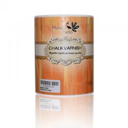 Mondobello βερνίκι νερού Λευκό Ματ για χρώμα κιμωλίας 0,75lt
