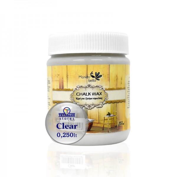 Mondobello Chalk wax 250ml Clear