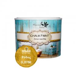 Chalkpaint Rhodes decorative water based paint Mondobello 0,375lt