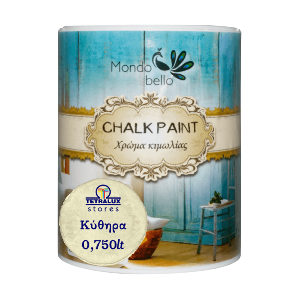 Chalkpaint Kythira decorative water based paint Mondobello 0,75lt