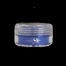 Mondobello Glitter 5gr μπλέ 532 ιριδίζον πούδρα