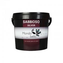 Mondobello Sabbioso silver διακοσμητικό χρώμα τεχνοτροπίας 0,75lt