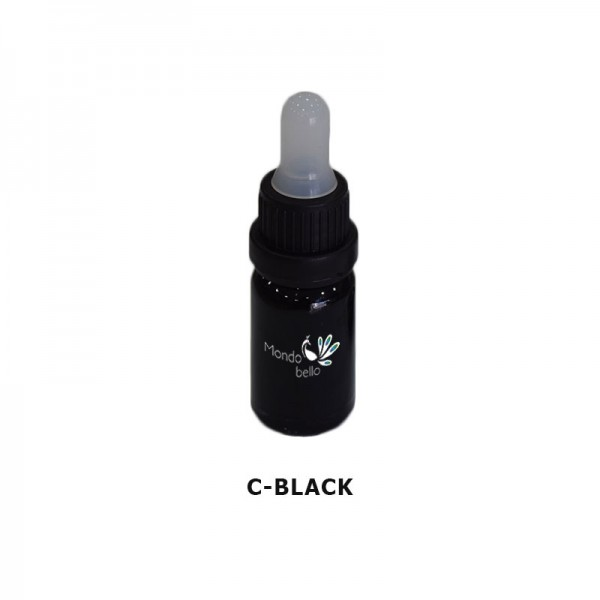 Mondobello C-Black Liquid Glass colorant 10ml