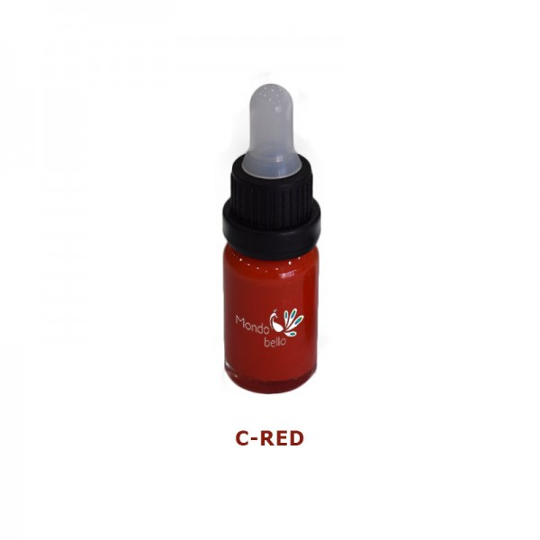 Mondobello C-Red Liquid Glass colorant 10ml