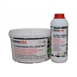 Novamix Βερνίκι νερού mat Πατητής Α+Β Planofinish pu 2kw 4lt