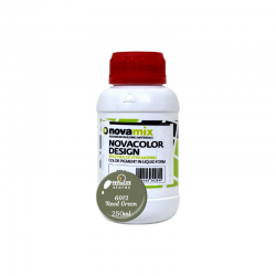 Novamix Pigments for Microcement in Liquid Form 6013 Reed Green Novacolor Design 250ml
