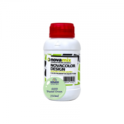Novamix Pigments for Microcement in Liquid Form 6019 Pastel Green Novacolor Design 250ml