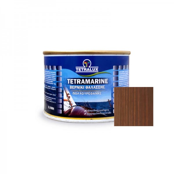 Tetramarine Marine Varnish 284 Light Walnut Tetralux 0.180lt