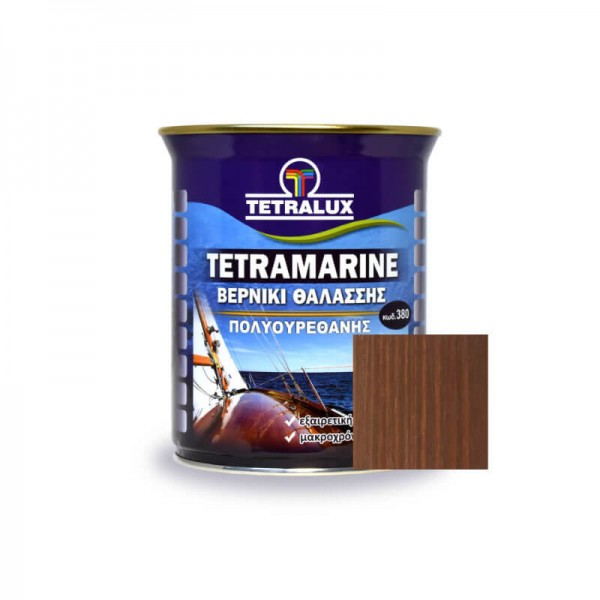 Tetramarine Marine Varnish 284 Light Walnut Tetralux 0.75lt
