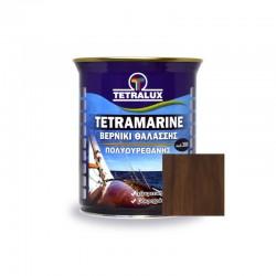 Tetramarine Marine Varnish Dark Walnut Tetralux 0.75lt