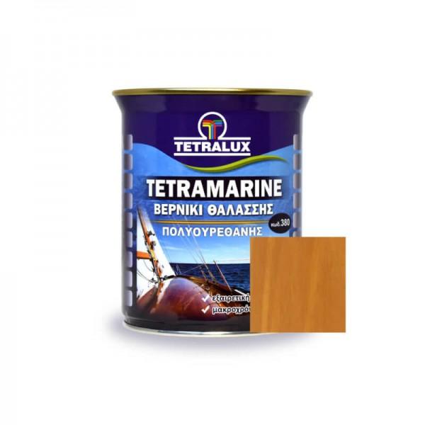 Tetramarine Marine Varnish 281 Light Teak Tetralux 0.75lt