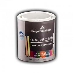 Benjaminmoore 307 Chalkboard paint χρώμα νερού μαυροπίνακα κιμωλίας 1lt