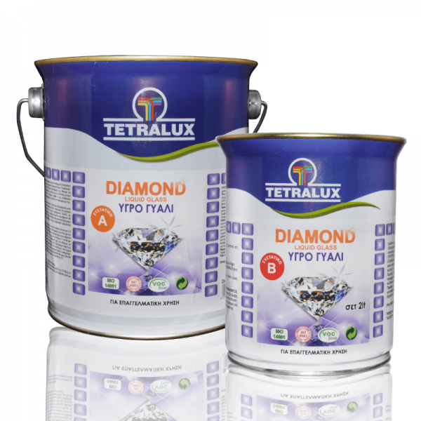 Tetralux υγρό γυαλί Α+Β Diamond liquid glass 2lt