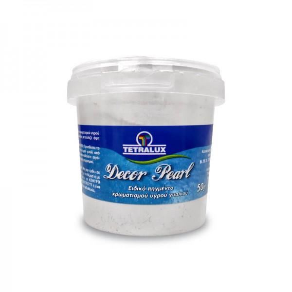 Tetralux Decor Pearl Epoxy Resin Pigment P1001 White 50gr