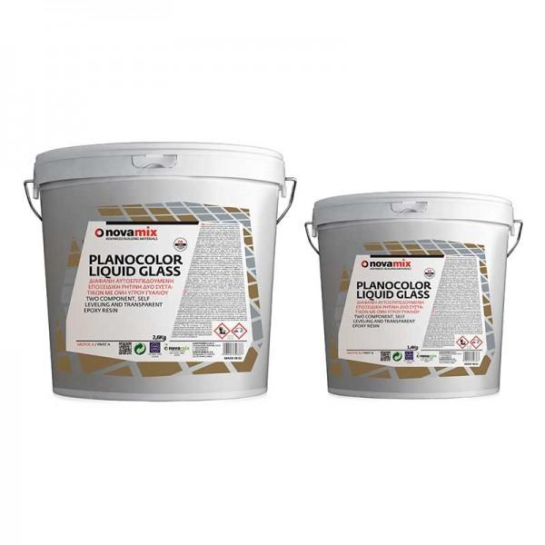 Novamix υγρό γυαλί Α+Β planocolor liquid glass 2kg