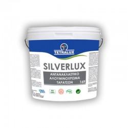 Tetralux χρώμα αλουμινίου ταρατσών Silverlux 3lt