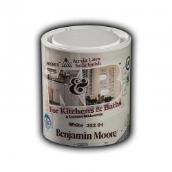 Benjaminmoore 322 Kitchen & Bath satin αντιμουχλικό 1lt