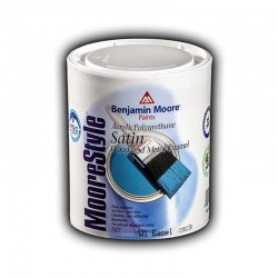 Benjamin Moore 587 MooreStyle Acrylic Wood & Metal Polyurethane water based Satine finish Enamel 1lt