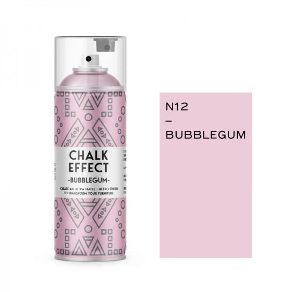 Cosmos Lac Σπρέι Κιμωλίας Chalk Effect Bubblegum No12 Ματ 400ml