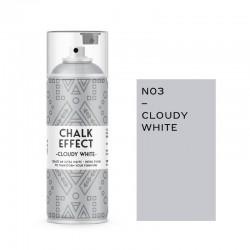 Cosmos Lac Σπρέι Κιμωλίας Chalk Effect Cloudy White No3 Ματ 400ml