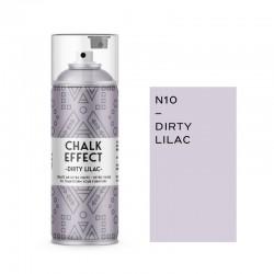Cosmos Lac Σπρέι Κιμωλίας Chalk Effect Dirty Lilac No10 Ματ 400ml