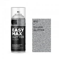 Cosmos Lak Σπρέι Βερνίκι Glitter Silver 910 Easy Max 400ml