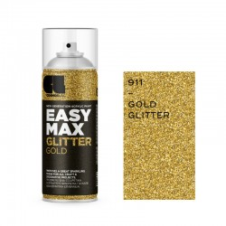 Cosmos Lac Σπρέι Βερνίκι Glitter Gold 911 Easy Max 400ml